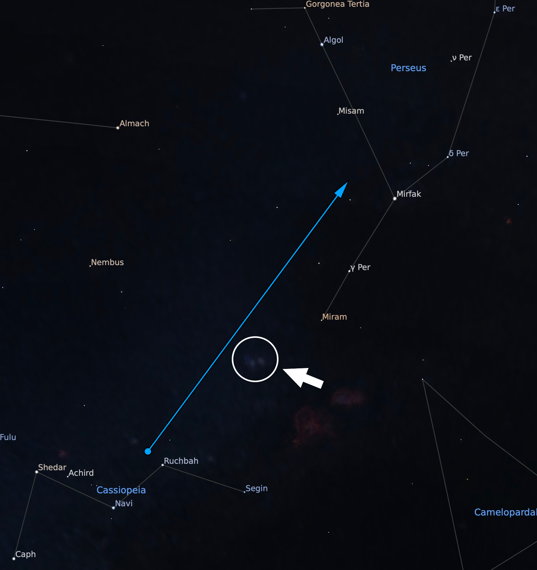 The Perseus Constellation