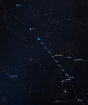 From Orion to Gemini