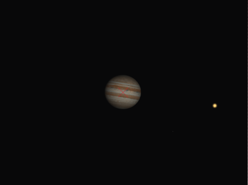 Jupiter with a Barlow lens
